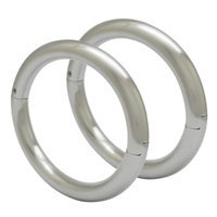 Wholesale high quality cuff bracelet resale online - High quality solid stainless steel wrist cuffs bangle bracelets