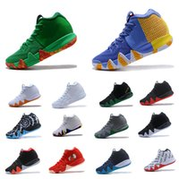 Wholesale Green Guardian - 2018 Mens Basketball shoes London Fall Foliage All Star CNY City Guardians Dark Obsidian BHM Top quality Outdoor Basketball shoes Sneakers