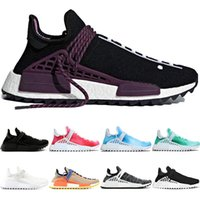 ingrosso porcellana di scarpe da corsa-Human Race trail Running Shoes Uomo Donna Pharrell Williams HU Runner Peace Passion Younth China Limited Sport Casual Sneaker Taglia 36-47