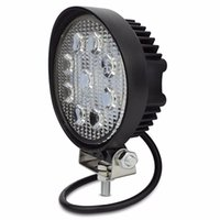 Wholesale round tractor lights for sale - Group buy 4 Inch W LED Work Light Flood Fog offroad ATV x4 Driving Lamp V for Motorcycle Tractor Truck Trailer SUV Boat WD