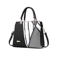 Wholesale luxury work bags - Woman Bag 2018 Luxury Leather Handbags Women Casual Work Tote Bags Famous Designer Crossbody Bags for Ladies Fashion Shoulder Bag Handbag