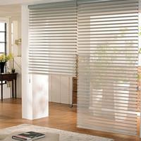cortinas verticales al por mayor-Nueva llegada de lujo moderno Zebra Blinds Rollor Blind cortina medio Blackout cortinas por encargo W100cmxH100cm envío gratis