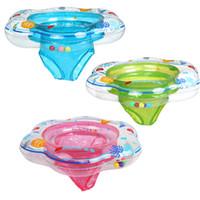 bebek yüzme havuzu toptan satış-Yeni Varış Sıcak Satış 52 * 21 Cm Bebek Havuzu Şamandıra Oyuncak Bebek halka Toddler Şişme Halka Bebek Şamandıra Yüzmek Yüzük Yüzme havuzunda Oturmak
