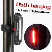 Wholesale led bike tail light - Bicycle Tail light Lamp LED Cycling Bike Rechargeable Seatpost Back Rear Light Safty Warning Waterproof