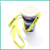 Wholesale t clamps - Wine Yoke For Bar Club Supplies Props Portable Creative Wines Glass Design Lanyard Multi Color Drinking Cups Holder High Quality 3ch Z