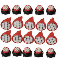 Wholesale Red Buick - WLJH T10 2825 8-SMD LED Bulb Lights Instrument Panel Gauge Cluster Repair Kit with 194 Twist Lock Sockets for Chevrolet Buick
