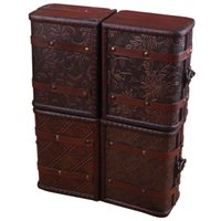 Wholesale Necklace Wood Gift Boxes Wholesale - Hot Multi Vintage Jewelry Necklace Bracelet Gifts Box Storage Organizer Wooden Cases Size:15*11.5*8cm Types:Types 1