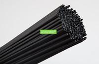 palos de caña al por mayor-500 PCS 3MM * 30CM Recambio de difusor de fibra negra Reed Sticks / Aromatic Sticks para fragancia de calidad superior