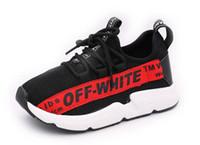kızlar için denim spor ayakkabıları toptan satış-YENI Çocuk Ayakkabıları Spor Nefes Erkek Sneakers Marka Çocuklar Kızlar için Ayakkabı Kot Denim Rahat Çocuk Düz Çizmeler