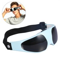 Wholesale eye massager magnetic resale online - Electric Eye Massager Migraine Mask Alleviate Fatigue Forehead Relax Eye Care Massager Health Care Magnetic Therapy Eye Massage