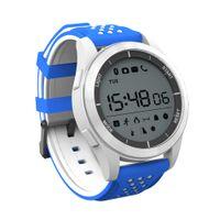 elma izci toptan satış-Moda NO. 1 F3 Akıllı Izle Bilezik IP68 su geçirmez Smartwatches Açık Modu Spor Spor Izci Hatırlatma Giyilebilir Cihazlar