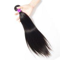 bella düz saç toptan satış-Bella Düz Bakire Brezilyalı Perulu Moğol Malezya Kamboçyalı Hint Remy Kalite İnsan Saç paket uzatma ücretsiz kargo