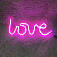 erkek çocuk lambası toptan satış-Neon Işık Burcu Beer Bar Mağaza Mağaza Ekran Reklam Işık Kız / Erkek / Çocuk Odası Dekoratif Asılı Duvar lambaları Sevimli Nightlight Hediye