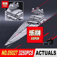 Wholesale toy bricks building blocks - LEPIN Emperor fighters starship Model Building Kit Blocks Bricks Compatible to Children Toys