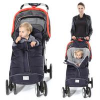 Winter Sleeping Bag Baby Sleeping Bags For Stroller With Footmuff Infant Cartoon Bear Bag Kids Cotton Baby Sleepsacks