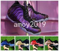 Wholesale Fabric Shine - 2018 New Legion Green Eggplant Men Penny Hardaway Basketball Shoes Shine Island Metallic Gold University Red Sport Sneakers Size 41-47