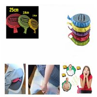 Wholesale padding for toys online - 14cm cm cm Funny Prank Whoopee Cushion Jokes Gag Fart Pad Fashion Trick Novelty Toy For adult Children GGA403