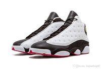 Wholesale tables games - 13 He Got Game White Black True Red Basketball Shoes Black Cat Mens Authentic Quality Real Carbon s Trainers Outdoor Sports Snerkers