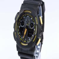 g montre choquant achat en gros de-2018 1 pcs Chaud relogio G WG hommes de sport grandes montres ga100
