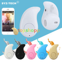 a0e0e9053 S530 super mini fone de ouvido estéreo sem fio bluetooth fone de ouvido fone  de ouvido menor no ouvido v4.0 discrição earbud para celular no varejo  pacote
