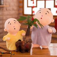 personajes de peluche de navidad al por mayor-Muñeca encantadora Lindo Personaje de Dibujos Animados Peluches Figura Muñeca Regalo Creativo Bebé Juguete Suave Muñecas Regalos de Navidad para Niños
