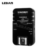 yn flash al por mayor-Yongnuo YN-622N II Transceptor único YN 622N Disparador de flash inalámbrico para D70 D70S D80 D90 D200 D300S D600 D300