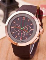 nette männeruhren großhandel-Top Männer Quarzuhr Mode Männer und Frauen Uhren Sport Datum hohe Qualität Armbanduhren Top Design Nizza Uhr Gummiband