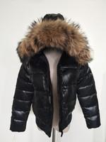 Mantel schwarz fell kapuze