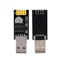 video video usb venda por atacado-USB para ESP8266 módulo WIFI placa de adaptador de telefone computador WIFI desenvolvimento microcontrolador comunicação sem fio