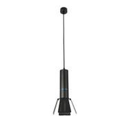 fiyat led bar ışıkları toptan satış-Modern LED kolye lamba Ticari LED Spot Işık 12 W 15 W 18 W siyah bitmiş Alüminyum Bar Kahve Dükkanı Ofis Rekabetçi Fiyat