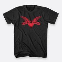 siyah erkek horoz toptan satış-Cock Sparrer Punk Rock Band Siyah Tee Boyutu S-3xl erkek Pamuk T-shirt Erkek Tasarlama T Gömlek Üst Tee Gevşek Giysiler