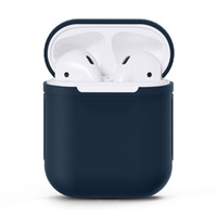 Wholesale case usb charge online - Bluetooth Headsets Earbuds Full Protective Case for Apple Airpods Wireless Bluetooth Headphones Earbuds Earphones with Charging Box