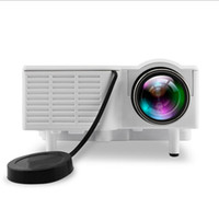 Wholesale Mini Portable UC28B projector LM Home Theater Cinema Multimedia LED Video Projector Support USB TF Card