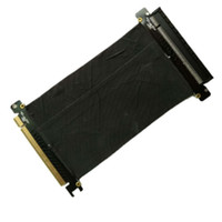 Wholesale pci scsi - High Speed PCI Express PCI-E 16x Flexible Cable Extension Port Adapter Riser Card Adapter PCIe Riser Extender Cable for Computer