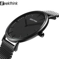 d93f912ff718 nuevo reloj timex al por mayor-Top Brand Luxury Quartz Watch hombres Casual  Negro Japón