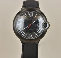 наручные часы мужские оптовых-Ограниченное количество роскошный автомобиль мужские часы W69012Z4 серии полное черное лицо красная точка календарь циферблат автоматическое движение F1 часы мужские наручные часы