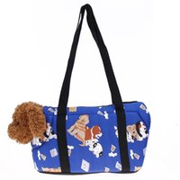 Wholesale Tents For Dogs - High Quality carrier Carrier Portable Pet Carriers Canvas Handbags Shoulder Bag Outdoor Package For Small and Medium Sized