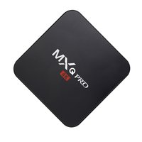 tv hd inteligente al por mayor-android tv box MXQ Pro 4K TV Box RK3229 android 7.1 smart tv set decodificador