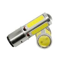 2x H6M PX15d P15D25-1 COB SMD LED Scheinwerfer Lampe für Motorrad ATV Fahrrad