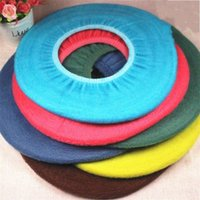 Wholesale Toilet Seat Covers Warmer - Popular Multiple Colors Toilet Seat Cover Soft Universal Washable Warm Toilets Mat Bathroom Supplies High Quality 1 1dz X