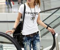 Wholesale designer ladies shirt - New Brand Summer T Shirt Women Tops Luxury Designer Shorts Lady Summer Beach Clothing Short Sleeve Tees Vacation Casual Tshirt
