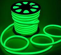 ingrosso rgb arancione chiaro-110V 220V LED Flex corda al neon luce impermeabile 80led / M Tubo al neon a led Flessibile striscia luminosa Indoor Outdoor Lighting Decorazione natalizia LLFA
