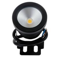 proyectores de 12v dc al por mayor-La lámpara impermeable 12V de la piscina de lavado lava la iluminación exterior Foco reflector de 10W LED impermeable a prueba de lluvia