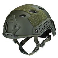 ingrosso casco regolabile-Casco tattico regolabile Airsoft Gear Paintball Head Protector con Night Vision Sport Camera Mount Maschera protettiva Caschi VB