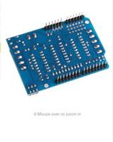arduino erweiterungskarten groihandel-OOTDTY Motorantriebsplatte L293D Control Shield Drive Erweiterungsplatine Modul Für Arduino