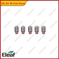 eleaf gs luftspulenkopf großhandel-Eleaf GS Luft M 0.35ohm Spulenkopf 5pcs für GS-Antriebs-Reihenprodukte von Eleaf E-Zig Spulen 5pcs / pack 100% Vorlage