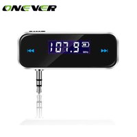 Wholesale wireless audio for ipad - Mini Wireless Transmitter 3.5mm In-car Music Audio FM Transmitter For iPhone 4 5 6 6S Plus Samsung iPad Car MP3 Transmitter
