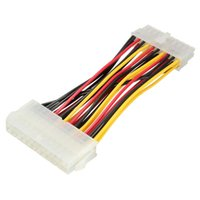 Wholesale Ide Internal - Wholesale- New Arrival 24 Pin Male to 20 Pin Female Internal PC PSU Power Adapter ATX Extension Cable For PC HDD Hard Drive