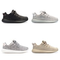 Wholesale pirate price - Wholesale Price 2017 updated 350 V1 Pirate Black Moonrock Oxford Tan Turtle Dove Mens Womens Running Shoes Lanye West Sneakers