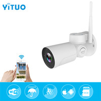 Wholesale waterproof bullet camera - IP PTZ Bullet Camera P X Optical Zoom IP66 Waterproof m IR Night Vision IP Camera Mini Outdoor WIFI PTZ P2P ONVIF YITUO
